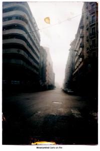Cairo on fire