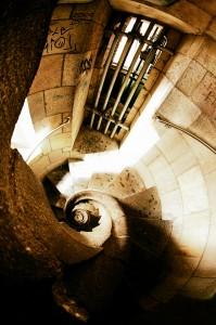 escalier gaudi