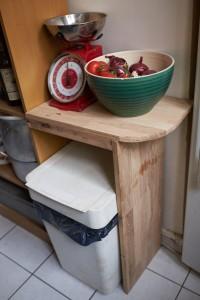 nouveau meuble a gauche du frigo