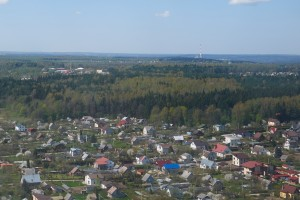 green city of vilnius