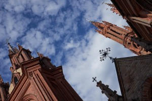 church Šv. Onos in vilnius