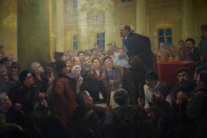 in grutas park russian propaganda painting